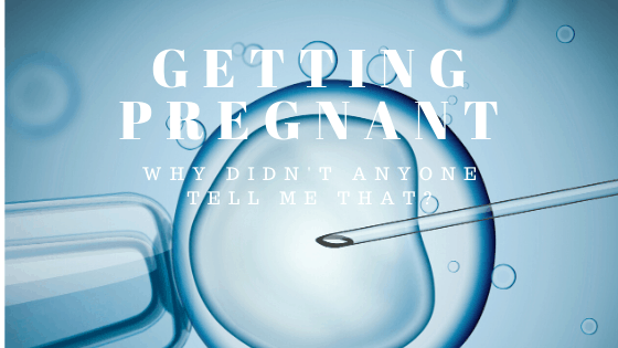 Getting pregnant blog post
