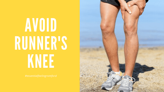 Avoid runner's knee pain when running blog post