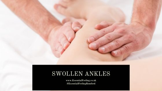 Swollen ankles during pregnancy