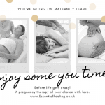 gift card voucher reduce stress pregnancy pregnant mum to be