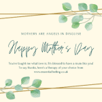 mother's day mothers day mum gift card