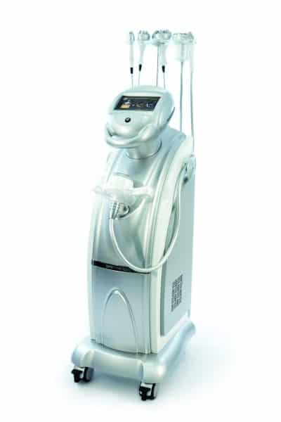 Promax lipo machine used by Essential Feeling Romford, Essex for fat reduction, BMI, skin tightening RF therapy